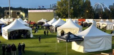 Event Rentals Outdoor Festivals beer tents The Mashing