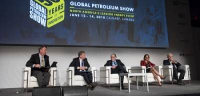 Conference and corporate events main stage Global Petroleum Show, Calgary