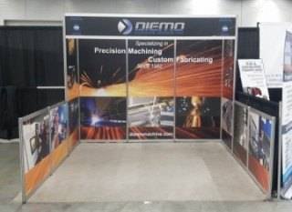 Diemo Machining at Canweld 2016
