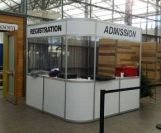 Admission counter at Edmonton Body Soul Spirit Expo Spring 2017