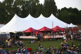 Event Rentals Beer Tent Outdoor Festival, 7 Music Festival, St. Albert, AB
