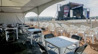 Event furniture rentals for patio style festivals and tents
