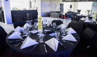Event rental furniture includes anything from tables and chairs for your corporate gala, to leather sofas and stools to uild a networking lounge to bars and chairs for your festival . . . and more!