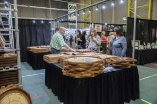 Consumer craft trade show, Butterdome, Edmonton