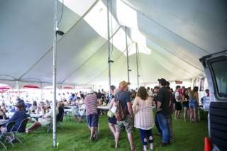 Pole Tent Rentals For Large Gatherings Concerts Or Festivals