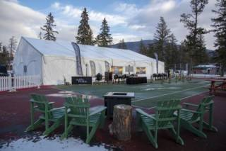 Clearspan event tent rental, Jasper