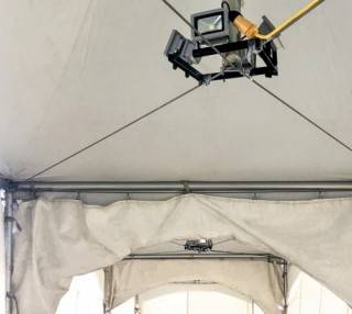 tent rental LED lights