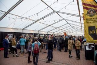 Clearspan Events tent at Banff Craft Beer Festival