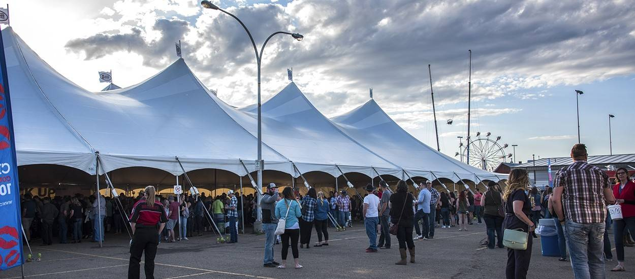 Rental pole tents for special events, festivals, and celebrations
