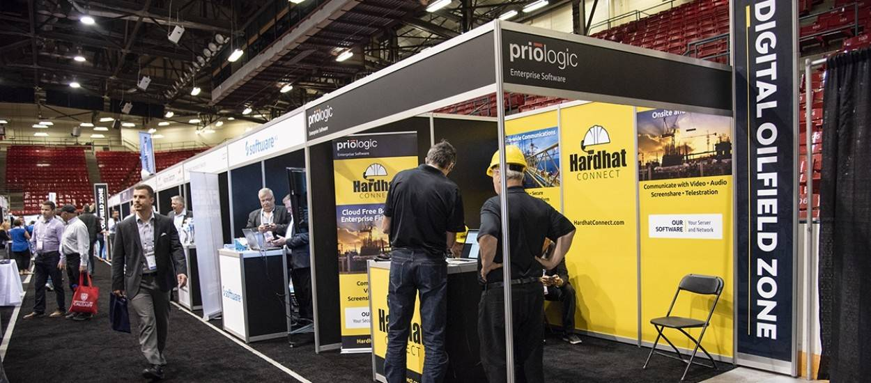 custom exhibits at industry trade show